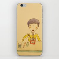 ramen iPhone & iPod Skins featuring Ramen by Ghila Valabrega