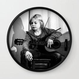 Grunge Icon Wall Clock