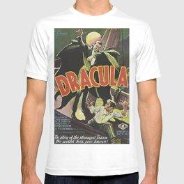 Dracula, vintage horror movie poster T-shirt