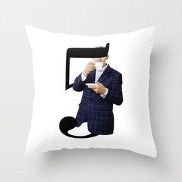 5 o'clock Throw Pillow