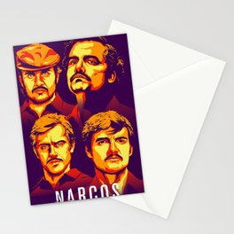 Narcos serie Stationery Cards