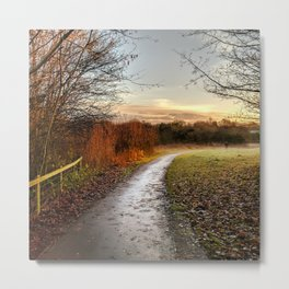 The Path to Morning Metal Print