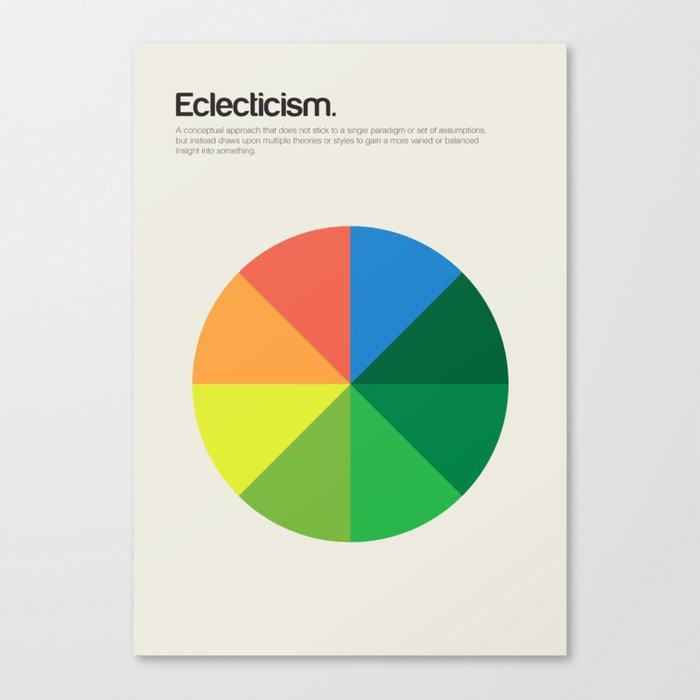 Eclecticism Canvas Print