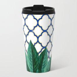 Leaves & Tiles #society6 #decor #buyart Travel Mug