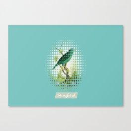 Songbird {Jade} Canvas Print