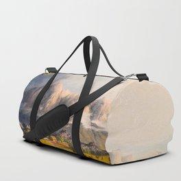 Esmeralda On The Orinoco Illustrations Of Guyana South America Natural Scenes Hand Drawn Duffle Bag