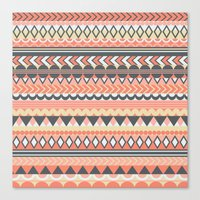 bohemian Canvas Prints featuring Bohemian  by emain