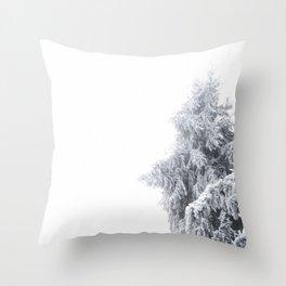 Winter Fog Throw Pillow