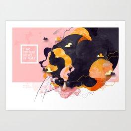 No Human Art Print