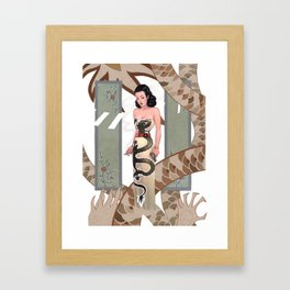 Dragon Lady Framed Art Print
