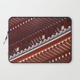 Pagoda roof pattern Laptop Sleeve