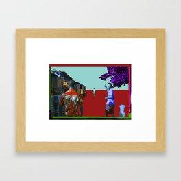 High Vibration…Ghana Framed Art Print