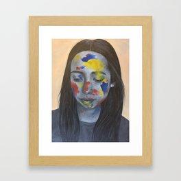Primary Colors Framed Art Print