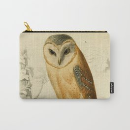 Naturalist Barn Owl Carry-All Pouch