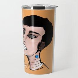 Pop Girl 5 WHITE Travel Mug