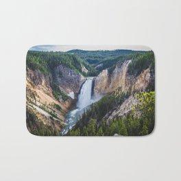 Waterfall, Grand Canyon of the Yellowstone Bath Mat