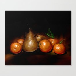 Food painting Canvas Print
