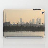 wiz khalifa iPad Cases featuring Dubai Skyline by Rebecca Bear