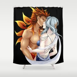 Sun god Moon goddess Shower Curtain