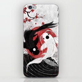 Koi fish - Yin Yang iPhone Skin
