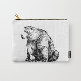 SITTING BEAR Carry-All Pouch