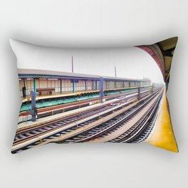 A platform view Rectangular Pillow