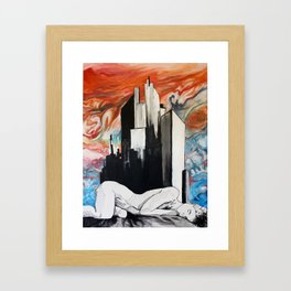 View from Ganymede Framed Art Print