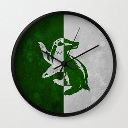 Hufflerin Wall Clock