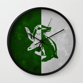 Hufflerin Wall Clock