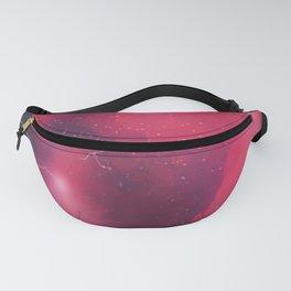 Pink Glitter Galaxy Fanny Pack
