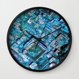 Bismuth Wall Clock