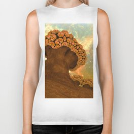Broccoli Planet in Fall Biker Tank