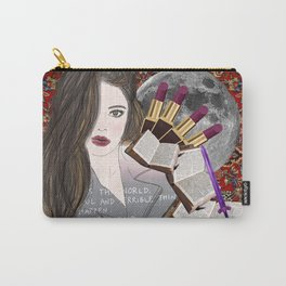 Intelligence and Beauty  Carry-All Pouch