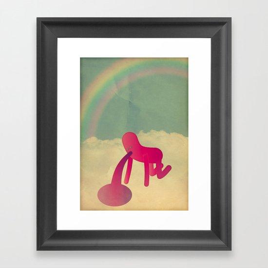 t o o m a n y c o c k t a i l s Framed Art Print