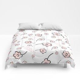 Pink blossom Comforters