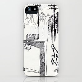 EXIT SERIES 1 iPhone Case
