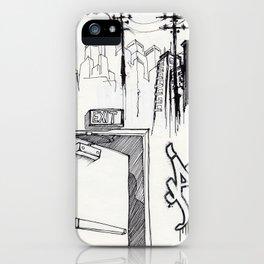 EXIT SERIES 1 iPhone Case