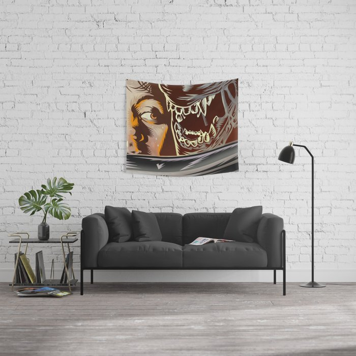 Alien - Movie  Poster Wall Tapestry