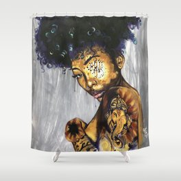 Naturally Poetree Shower Curtain
