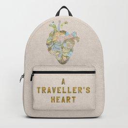A Traveller's Heart (UK) Backpack