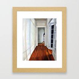 Hallway Framed Art Print
