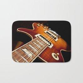 Sunburst Electric Guitar Bath Mat