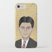 kafka iPhone & iPod Cases featuring Kafka by Pendientera