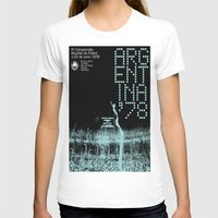 world cup T-shirts featuring World Cup: Argentina 1978 by James Campbell Taylor