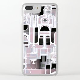 Architectural Engineering 2 Clear iPhone Case