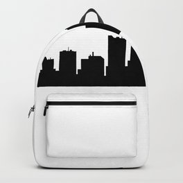detroit skyline Backpack