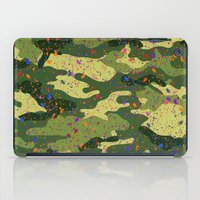 camouflage iPad Cases featuring CAMOUFLAGE by DIVIDUS DESIGN STUDIO