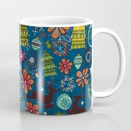 joyous unique coffee mug. joyous jumble indigo Coffee Mug Bauble Mugs  Society6