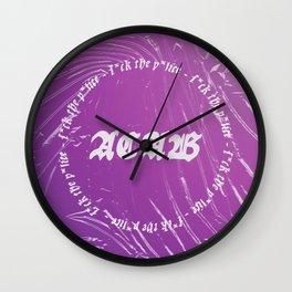 A.C.A.B. (Royalties go to BLM/P*lice Br*tal*ty Related GoFundMe's) Wall Clock