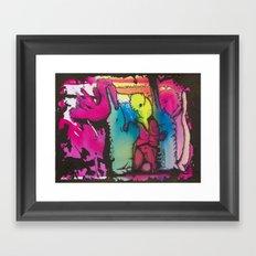 encajados Framed Art Print